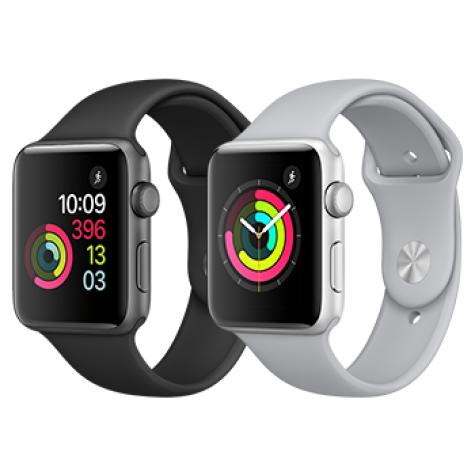 Apple Watch Series 2 和 Series 3 的鋁金屬機型之螢幕更換方案